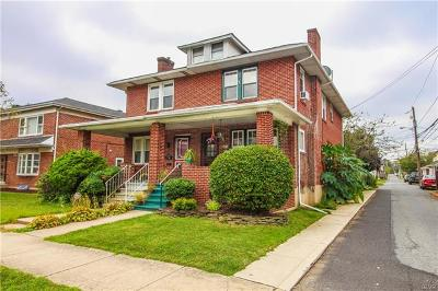 Allentown City Single Family Home Available: 630 North 22nd Street