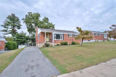 Allentown City Single Family Home Available: 2451 South Lumber Street