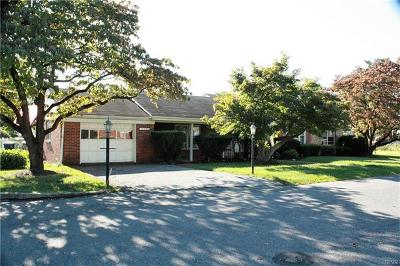 Allentown City Single Family Home Available: 1302 22nd Street