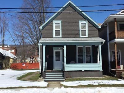 Bradford PA Single Family Home For Sale: $49,500