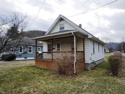Bradford PA Single Family Home For Sale: $30,155
