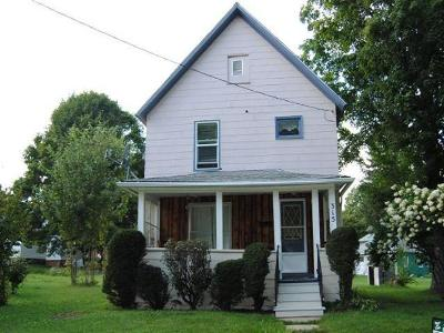Single Family Home For Sale: 315 Kinzua Avenue
