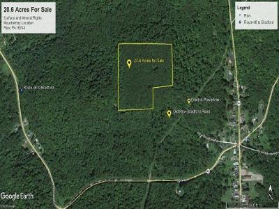 McKean County Residential Lots & Land For Sale: Rew Bradford Road