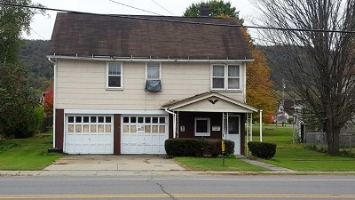 Coudersport Single Family Home For Sale: 105 Chestnut St