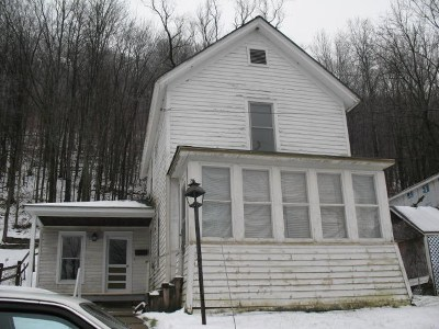 Galeton PA Single Family Home For Sale: $14,900
