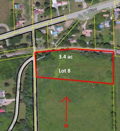 Middlebury Center Residential Lots & Land For Sale: Lot 8 Sweet Hollow Rd