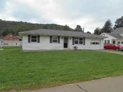 Coudersport PA Single Family Home For Sale: $69,900