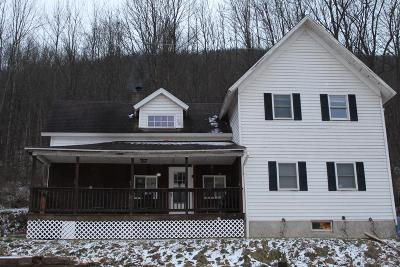 Wellsboro PA Single Family Home For Sale: $127,692