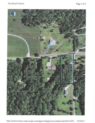 Coudersport Residential Lots & Land For Sale: - A Frame Rd @subdivision Rd
