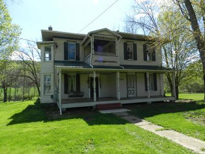 Coudersport, Galeton, Gaines, Wellsboro, Mansfield, Mainesburg, Troy, Sayre, Lawrenceville, Elkland, Knoxville, Westfield, Genesee, Liberty, Williamsport Single Family Home Uc - Continue To Show: 6060 Austinville Road