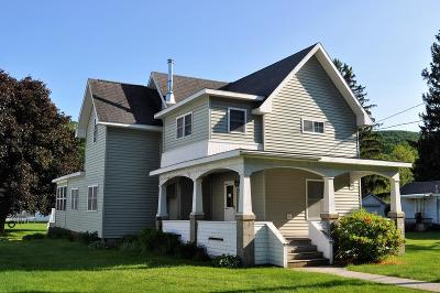 Middlebury Center Single Family Home For Sale: 1067 Route 249