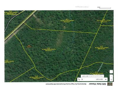 Wellsboro Residential Lots & Land For Sale: Lot #4 Antrim Rd