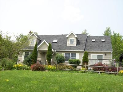 Wellsboro Single Family Home For Sale: 55 Mount Zion Extension