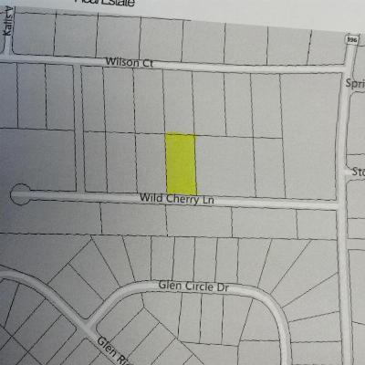 Residential Lots & Land For Sale: Lot 8 Wild Cherry Ln