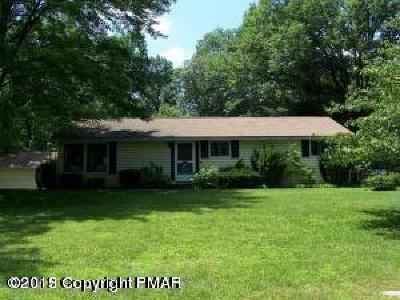 East Stroudsburg Single Family Home For Sale: 505 Marshalls Crk