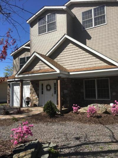 Pocono Lake Single Family Home For Sale: 7686 Lake Shore Drive Lakefront