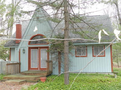 Pocono Pines PA Single Family Home For Sale: $148,500