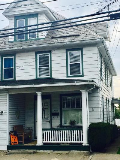 Pen Argyl Single Family Home For Sale: 516 W Pennsylvania Ave