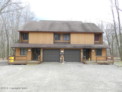Mount Pocono Multi Family Home For Sale: 34 Mountain Dr