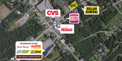 Blakeslee Commercial For Sale: Sr 940 And Kimberly Dr.