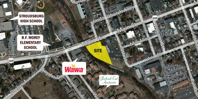Stroudsburg Commercial For Sale: 1009 Main St