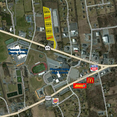 Brodheadsville Commercial For Sale: Lot#2 Jenna Dr