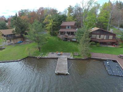 Lake Harmony Single Family Home For Sale: 305 North Lake Drive (Lakefront)