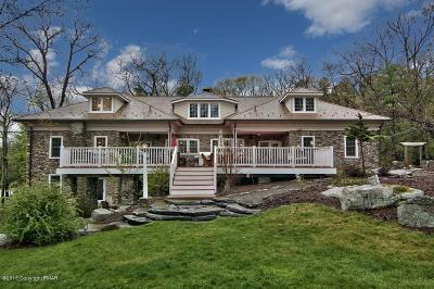 Buck Hill Falls Single Family Home For Sale: 617 Lenape Ln