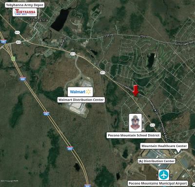 Tobyhanna Commercial For Sale: Route 611