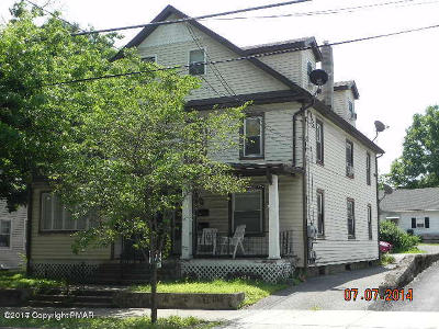 Stroudsburg Multi Family Home For Sale: 503-505 Sarah St