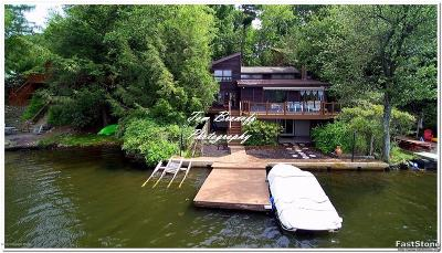 Lake Harmony Single Family Home For Sale: 122 S Lake (Lakefront) Dr