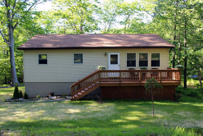 Canadensis Single Family Home For Sale: 296 Lookout Point Rd