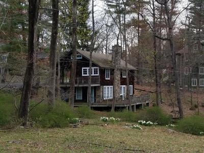Buck Hill Falls Single Family Home For Sale: 118 Falls Dr