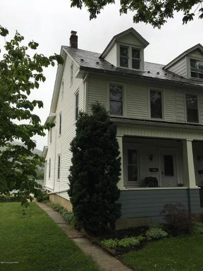 Palmerton Single Family Home For Sale: 228 Columbia Ave