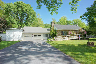 Bartonsville, Delaware Water Gap, East Stroudsburg, Marshalls Creek, Shawnee On Delaware, Stroudsburg, Tannersville Single Family Home For Sale: 2783 Route 611