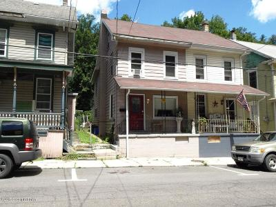 Jim Thorpe Single Family Home For Sale: 314 W Broadway