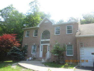 Stroudsburg Single Family Home For Sale: 4013 Crestview Drive