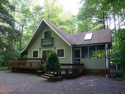 Pocono Pines PA Single Family Home For Sale: $204,000