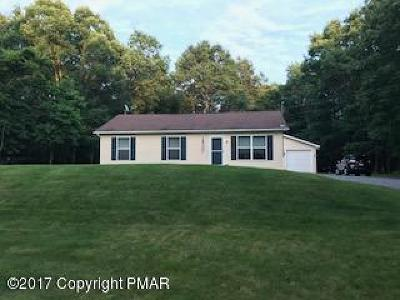 Blakeslee Single Family Home For Sale: 238 Schochs Mill Ml