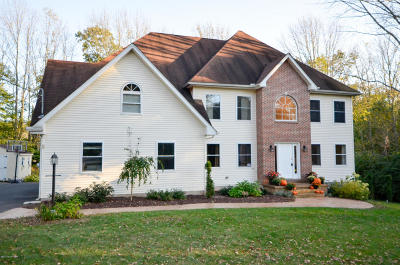Saylorsburg Single Family Home For Sale: 2510 Rising Hill Dr