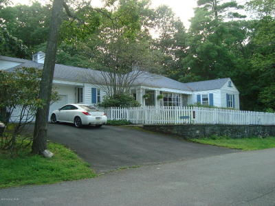 Buck Hill Falls Single Family Home For Sale: 179 Falls Dr