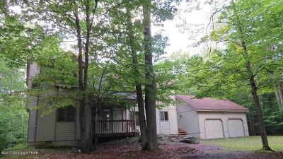 Pocono Pines Single Family Home For Sale: 5173 Pioneer Fka 19 Pioneer Trl