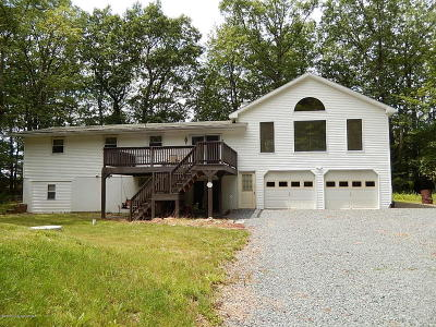 Jim Thorpe Single Family Home For Sale: 518 Bear Creek Lake Dr