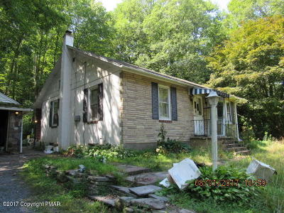 Stroudsburg Single Family Home For Sale: 1106 Bartonsville Woods Rd