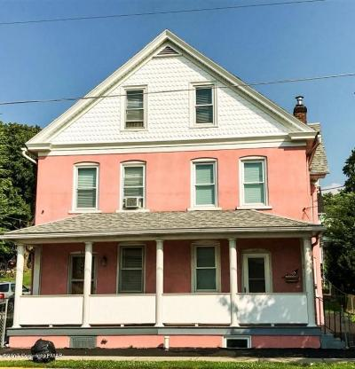 Jim Thorpe Single Family Home For Sale: 232 North St