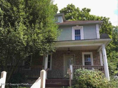 Stroudsburg Single Family Home For Sale: 604 Park Ave