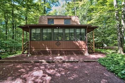 Pocono Pines PA Single Family Home For Sale: $134,900