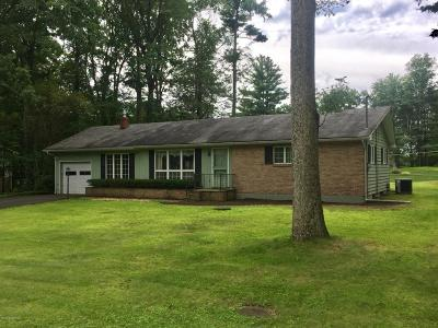 Stroudsburg Single Family Home For Sale: 181 Skinner Hill Rd