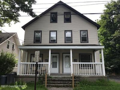 East Stroudsburg Multi Family Home For Sale: 345 Monroe St