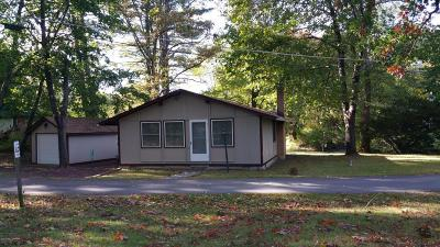 Kunkletown PA Single Family Home For Sale: $69,900